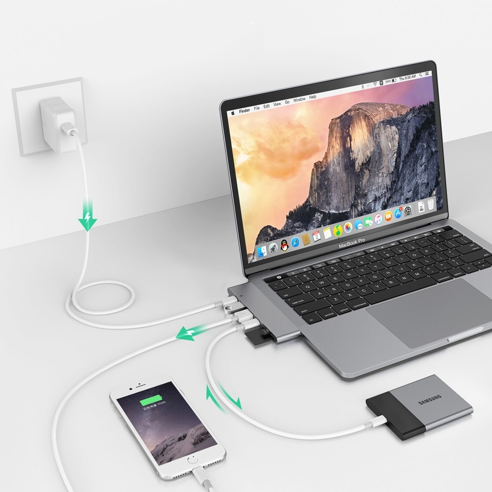 Top 5 best verkochte USB-C Adapters / Hubs