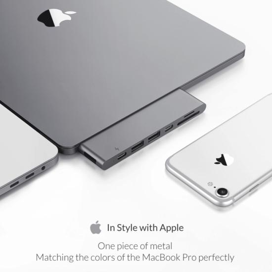 MacBook Pro Dock in style of apple naadloos design