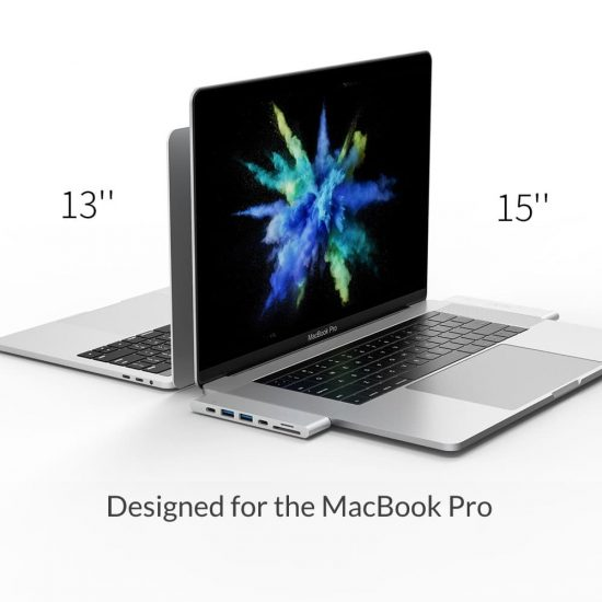 MacBook Pro dock 13 15 inch silver