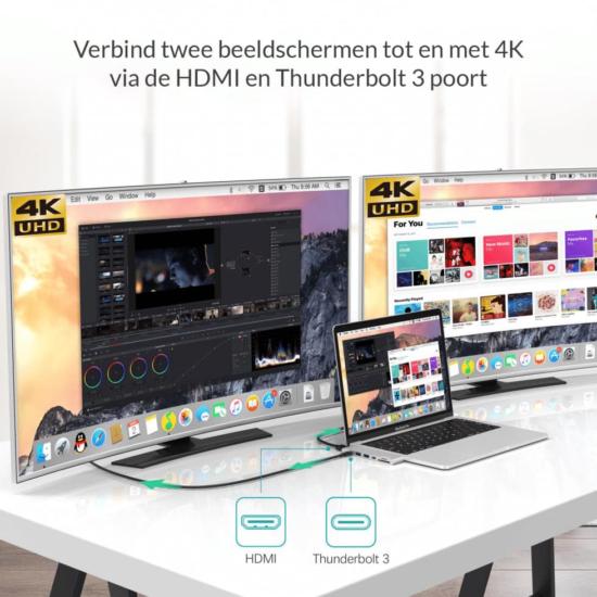 Dual screen - macbook pro dock