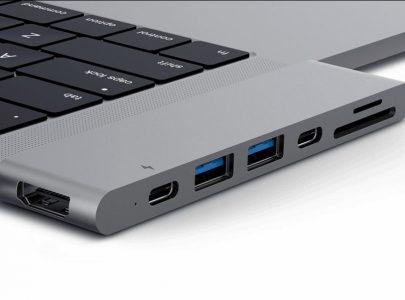 Dock aansluitingen voor de nieuwe MacBook