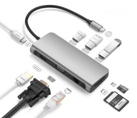 usb hub 9 in 1 frontpage