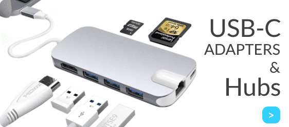 USB-C Hubs kopen? Bekijk onze USB-C Adapters en Hubs