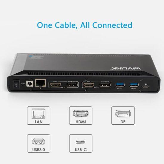 USB-C Thunderbolt Docking Station MacBook Universal