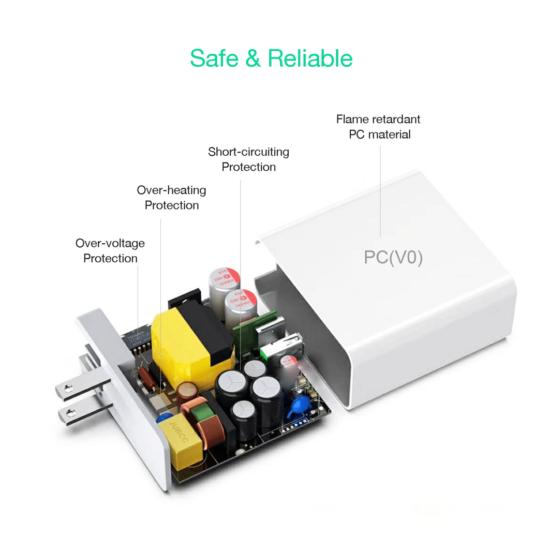 USB-C oplader 87W