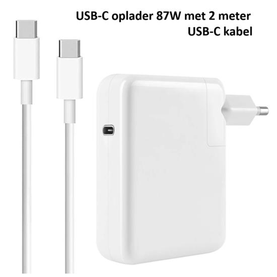 USB-C 87W oplader