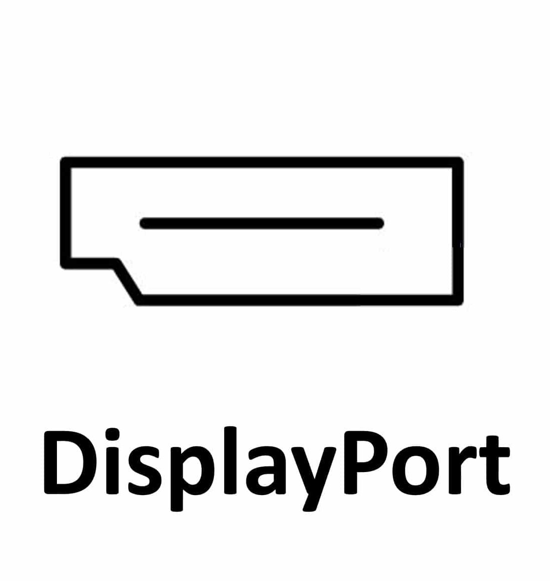 Displayport icon