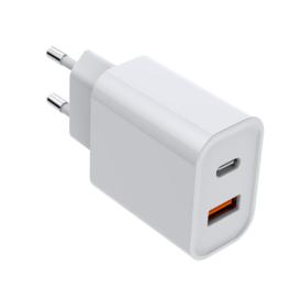 USB-C oplader 20W + USB-A