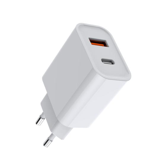 USB-C oplader 20W + USB